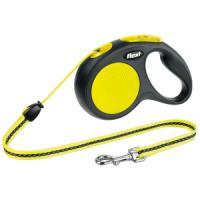 Фотография товара Поводок-рулетка для собак Flexi Neon Safety Plus M